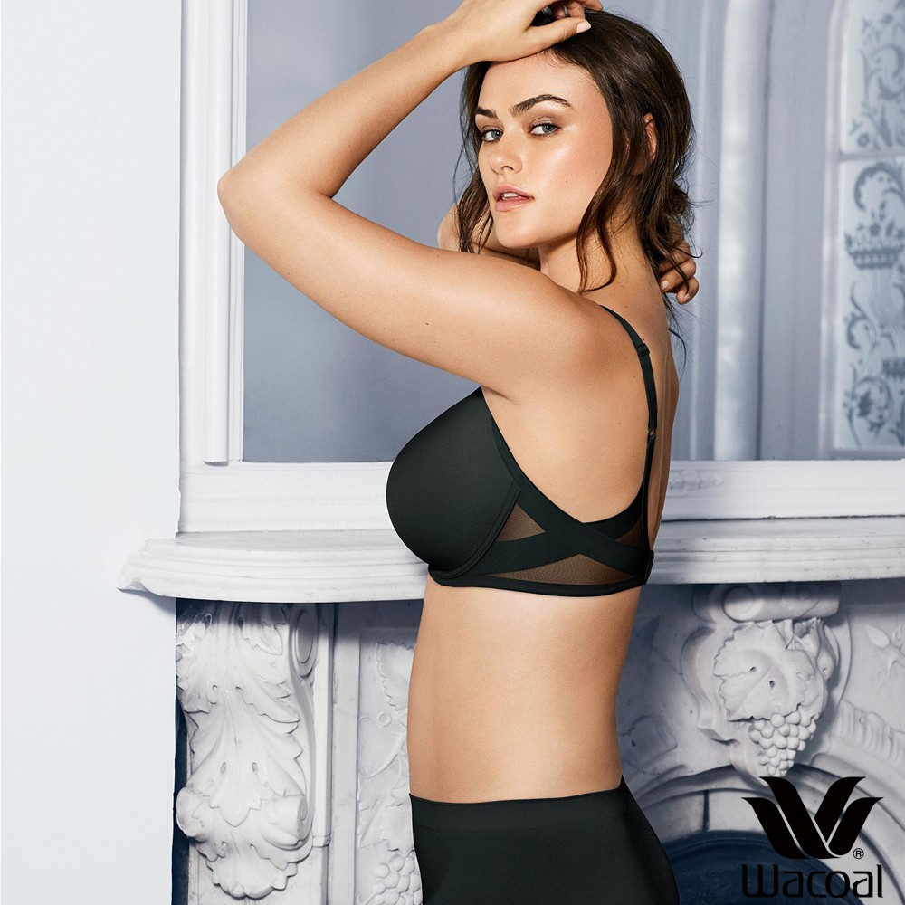 Ultimate Side Smoother T Shirt Bra Black Patricia