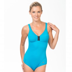 City soft cup Swimsuit Turquoise 5990