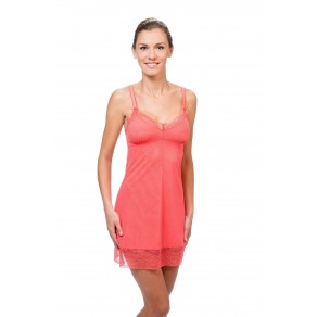 Sorbet Night Dress 9868, coral
