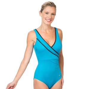 City Swimsuit Turquoise 5785