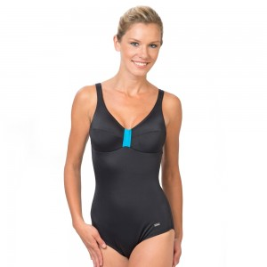 Citysoft cup Swimsuit Black 5990