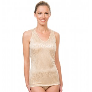 Elastic Shape top Gold 9307