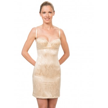 Elastic Shape Dress, gold 9306