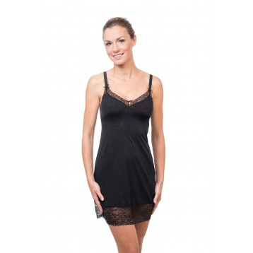 Sorbet Night dress Black 9868