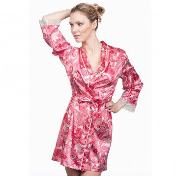 Bright Rose Kimono 9872 LAST SIZES