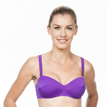 City Underwired bikini top Lila 5997