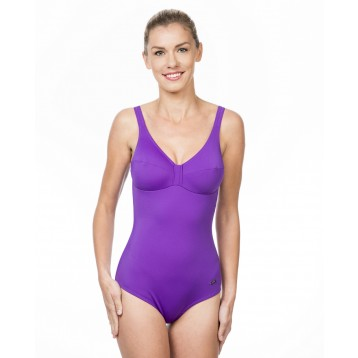 City Soft cup Swimsuit Lila 5990