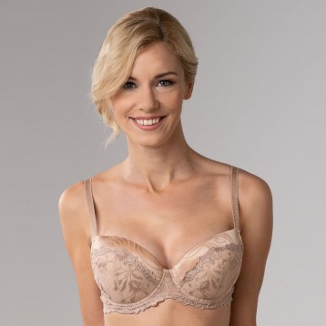 Donna Push Up Bra 3837, powder