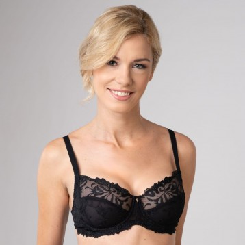 Donna Underwired Bra 3836, black