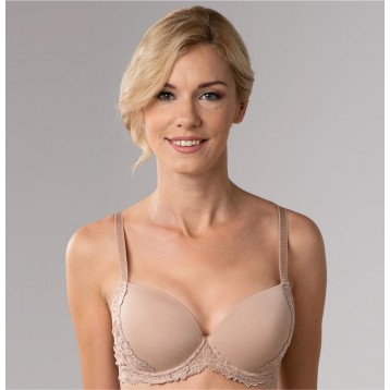 Donna T-shirt bra 3834, powder