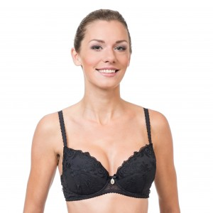 Donna push-up liivi 3804, musta