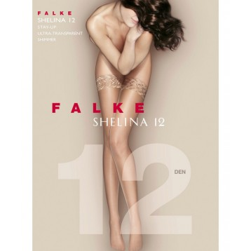 Falke Shelina 12 DEN Women Stay Ups gold 41526