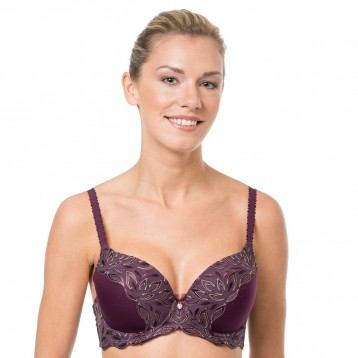 Bianca push-up liivi 3808, luumu