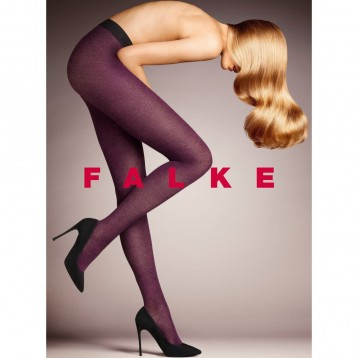 FALKE tights Chrysalis 40 den purple 41116