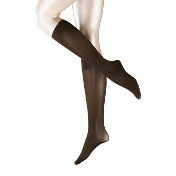 Falke Women's Knee-High Socks, 40 DEN balck 41796
