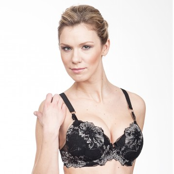 Chantal push-up liivi 3785, musta